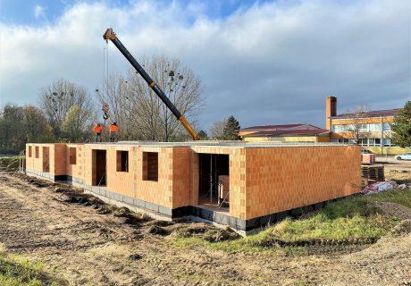 Fotka galérie Domukentácia z výstavby - 2
